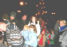 Kinder auf dem Nikloausfest